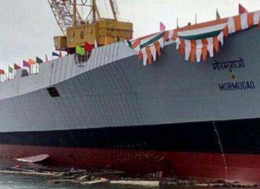 Індія спустила на воду новий есмінець