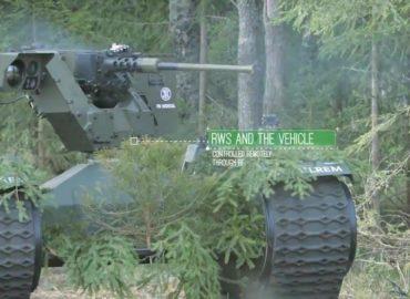 Естонська армія випробує бойових роботів