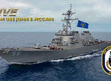 «Джон Маккейн» вийшов в море