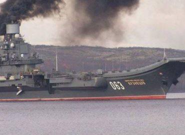 Невдача «Адмірала Кузнєцова»: тепер пожежа