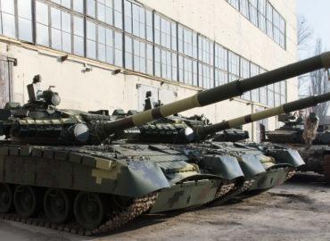 Харківській бронетанковий завод провів пивний тест стабілізатора гармати Т-80БВ