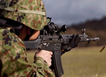 Нова штурмова гвинтівка і пістолет для ССО Японії