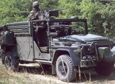 Розвідувально-бойова машина німецького спецназу