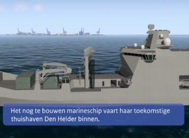 ВМС Нідерландів отримають новий транспорт постачання