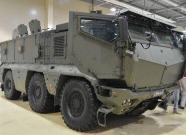 Бронеавтомобіль «Тайфун-К» для 41 армії
