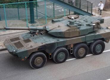 Японський колісний танк «Тип 16» — оцінки китайських фахівців