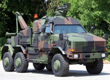 Колісна броньована техніка ЗС Німеччини