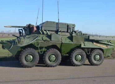 ЗС України прийняли на озброєння нову КШМ на базі БТР-70КШ