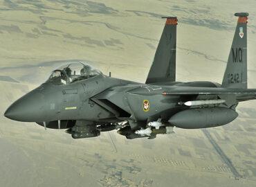 На навчаннях ВПС США помічені F-15E з тактичними ядерними авіабомбами B61-12