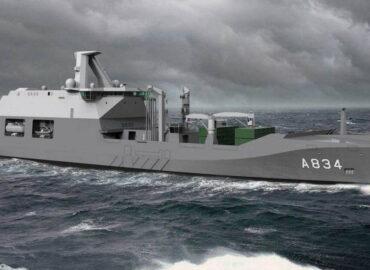 ВМС Нідерландів підтвердили будівництво корабля забезпечення