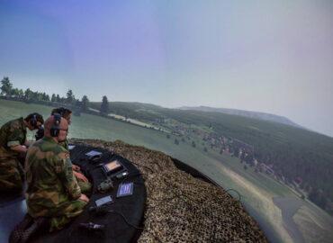 Норвезький бойовий симулятор авіаційних навідників