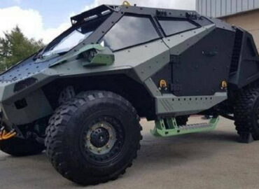 Нова броньована машина Ізраїлю «Богомол»