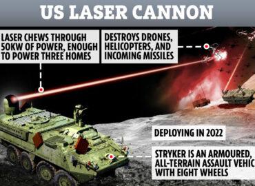 Армія США розробляє тактичний лазер