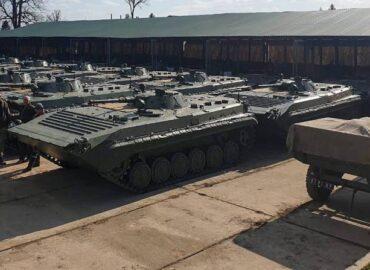 ЗС України отримали партію БМП-1 з Європи