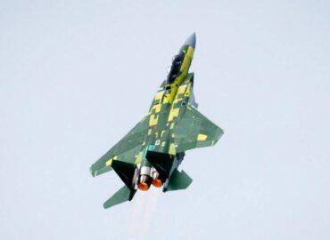 Перший винищувач F-15QA для ВВС Катару вперше злетів у США