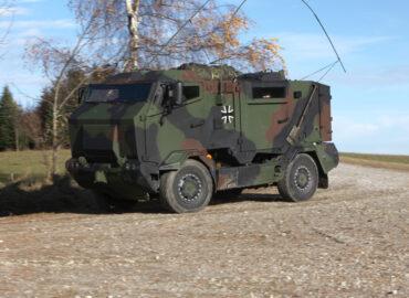 Машина РХБР для аеромобільних сил бундесверу