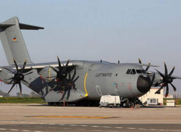 Стратегічні повітряні перевезення поранених силами ВПС Німеччини