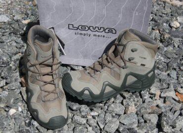 Тактичні черевики від Lowa — колекція 2020