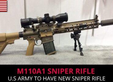 Марксмени отримали M110A1