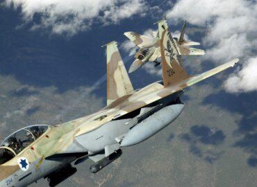 Китайські фахівці про участь ВПС Ізраїлю у сирійському конфлікті