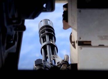 Морпіхи США про турель GAU-17 конвертоплана MV-22B Osprey