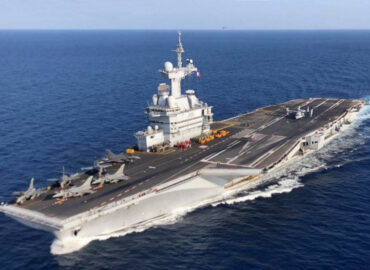 У Франції проведуть розслідування за фактом зараження моряків авіаносця «Шарль де Голль»