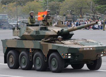 Японія нарощує чисельність колісних танків