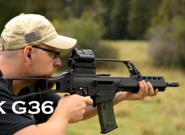 Гвинтівка G36 пройшла «грязьовий тест»