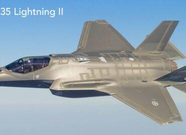 Винищувач-бомбардувальник F-35 Lightning II