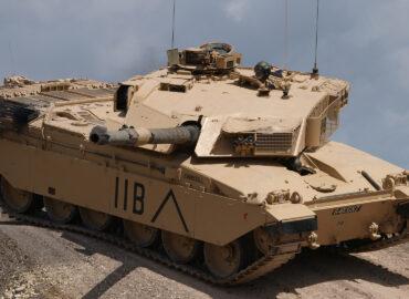 Яке працюється британському танкісту
