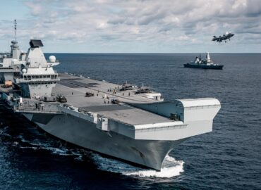 «Королева Єлизавета» готова очолити британський флот
