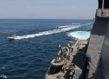 Іран знову топить свій «авіаносець»