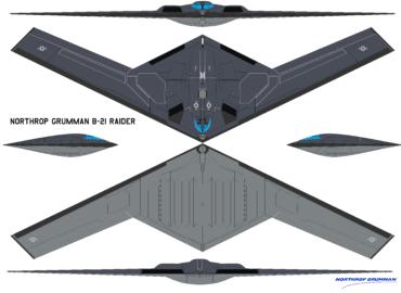 Стелс-бомбардувальник B-21 прискорюється
