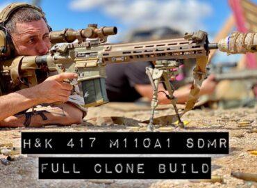 Марксмени озброїлися рушницями M110A1