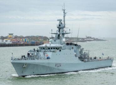 Британський флот озброївся ще одним «патрульним» кораблем