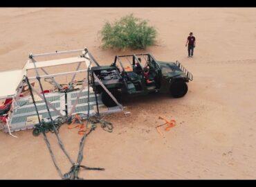 Вантажна парашутна система для десантування безпілотної техніки