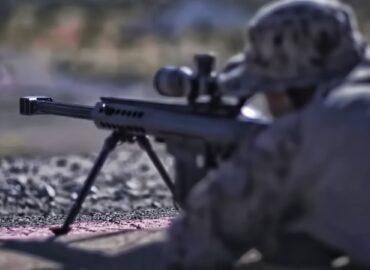 Антиматеріальні снайпери тренуються