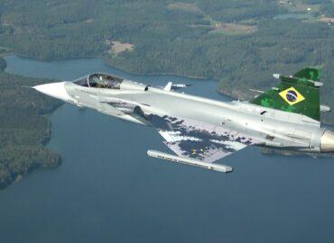 Бразилія отримала перший винищувач Gripen