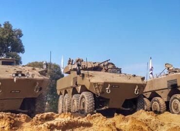 Ізраїльтяни продемонстрували можливості свого нового БТРа