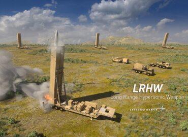 Американці показали, як виглядають їх гіперзвукові ракети