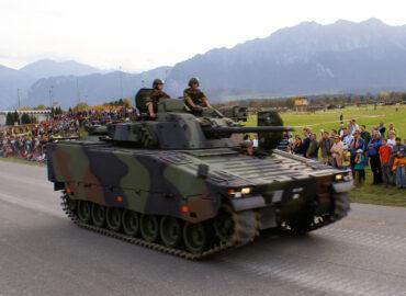 Швейцарія оновлює свої БМП Schützenpanzer 2000