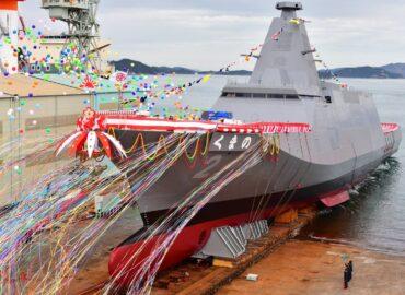 В Японії спустили на воду фрегат нового покоління