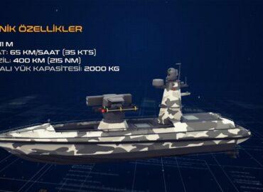 Туреччина будує роботизований ракетний човен