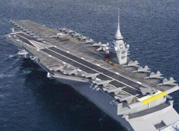 Франція побудує новий атомний авіаносець