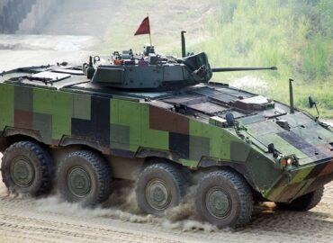 Тайвань розробляє колісний танк