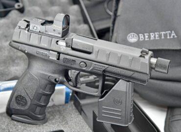 Пластиковий пістолет Beretta APX домігся успіху в Бразилії