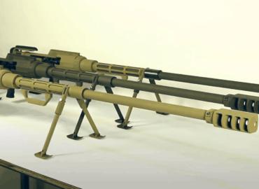 Українська армія озброїлась новими «антиматеріальними» гвинтівками
