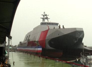 Тайвань спустив на воду «вбивцю авіаносців»