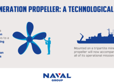 Французи створили корабельний гвинт за допомогою 3D-принтера