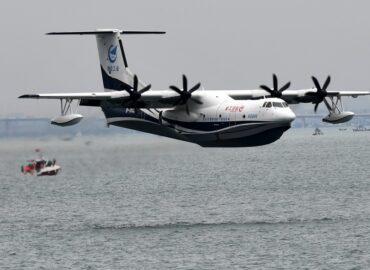 Китайський літак-амфібія AG600 пішов в тираж